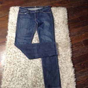 7 For All Mankind Straight Jeans Size 31